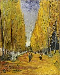 L'Allee des Alyscamps, Arles | Vincent van Gogh | Gemälde Reproduktion