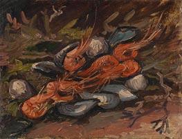 Garnelen und Muscheln | Vincent van Gogh | Gemälde Reproduktion