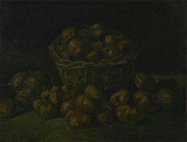 Korb von Kartoffeln, 1885 von Vincent van Gogh | Gemälde-Reproduktion