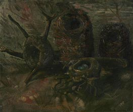 Birds' Nests, 1885 by Vincent van Gogh | Painting Reproduction