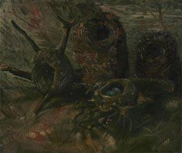 Nester der Vögel, 1885 von Vincent van Gogh | Gemälde-Reproduktion