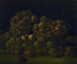 Baskets of Potatoes, 1885 by Vincent van Gogh | Painting Reproduction