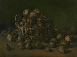 Basket of Potatoes | Vincent van Gogh | Painting Reproduction
