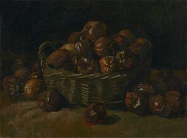 Basket of Apples, 1885 by Vincent van Gogh | Painting Reproduction