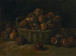 Korb der Äpfel, 1885 von Vincent van Gogh | Gemälde-Reproduktion