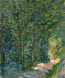 Path in the Woods | Vincent van Gogh | Painting Reproduction