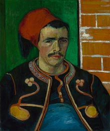 The Zouave, 1888 by Vincent van Gogh | Painting Reproduction