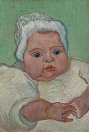Portrait of Marcelle Roulin | Vincent van Gogh | Painting Reproduction