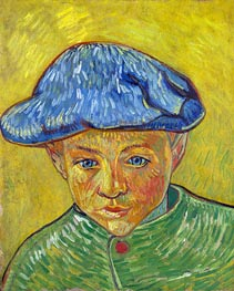 Portrait of Camille Roulin, 1888 by Vincent van Gogh | Painting Reproduction