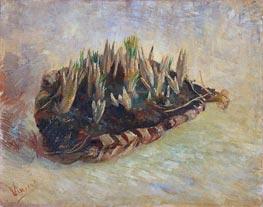 Korb der Krokuszwiebeln, 1887 von Vincent van Gogh | Gemälde-Reproduktion