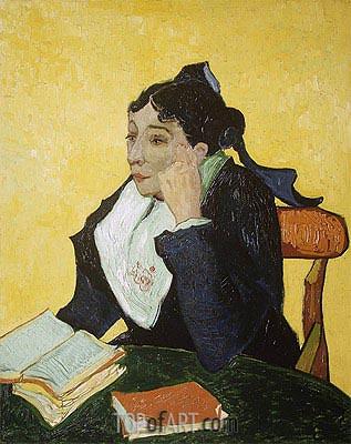 Vincent van Gogh | L'Arlesienne: Madame Joseph-Michel Ginoux, c.1888/89