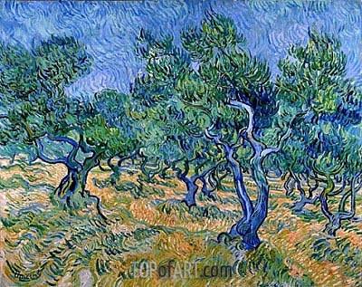 Vincent van Gogh | Olive Grove, 1889