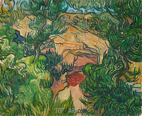 Vincent van Gogh | Entrance to a Quarry, 1889