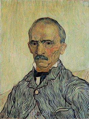 Vincent van Gogh | Portrait of Superintendant Trabuc in St. Paul's Hospital, 1889