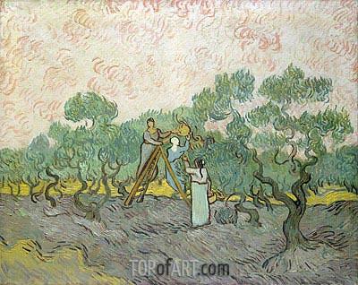 Vincent van Gogh | Olive Picking, 1889
