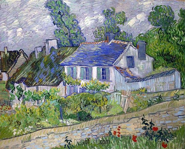 Vincent van Gogh | House in Auvers, 1890