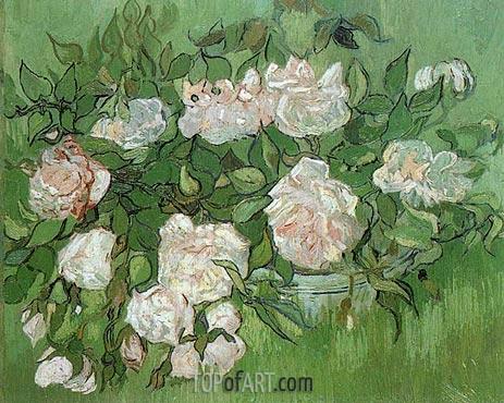 Vincent van Gogh | Still Life - Pink Roses, June 1890