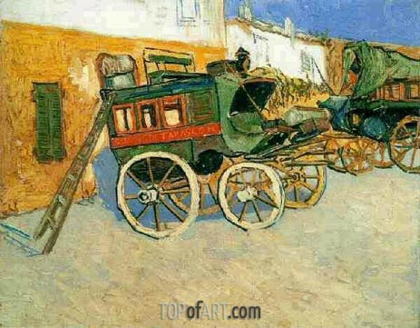 Tatascon Diligence, October 18 | Vincent van Gogh | Painting Reproduction