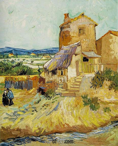 Vincent van Gogh | The Old Mill, September