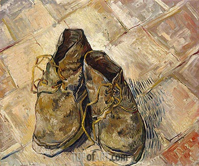 A Pair of Shoes, 1888 | Vincent van Gogh | Painting Reproduction