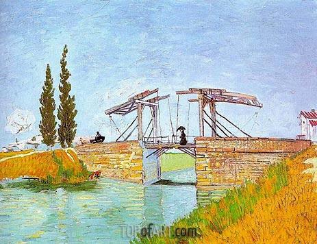 Vincent van Gogh | The Langlois Bridge at Arles, May 1888
