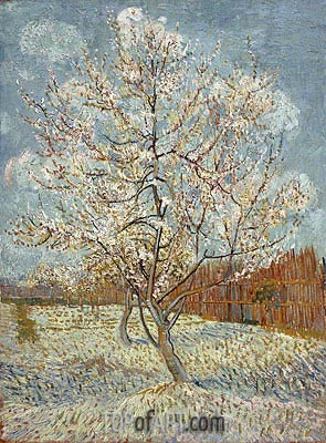 Peach Tree in Blossom, April-May | Vincent van Gogh| Gemälde Reproduktion