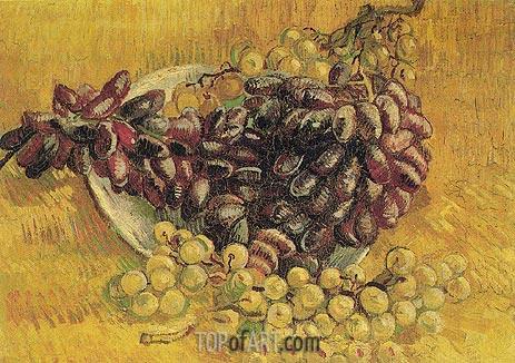 Vincent van Gogh | Still Life with Grapes, 1887