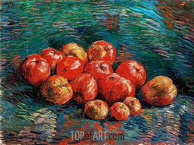 Still Life with Apples, 1887 | Vincent van Gogh| Painting Reproduction