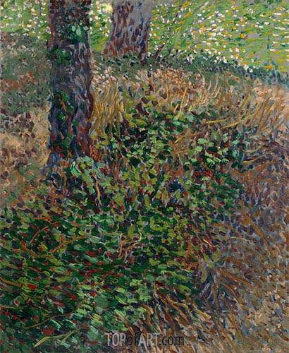 Vincent van Gogh | Undergrowth, 1887