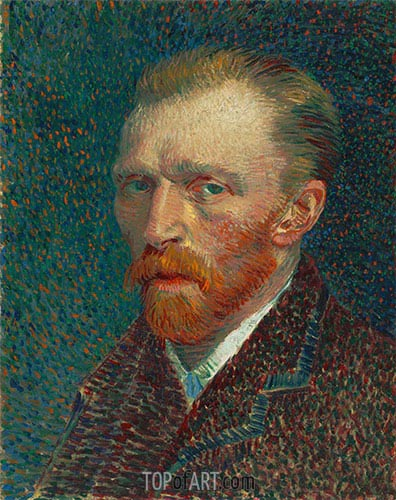 Self-Portrait, Spring 188 | Vincent van Gogh | Painting Reproduction
