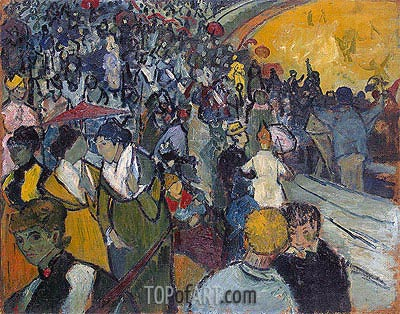 Arena at Arles, 1888 | Vincent van Gogh | Painting Reproduction