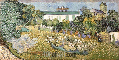 Daubigny's Garden, 1890 | Vincent van Gogh| Painting Reproduction