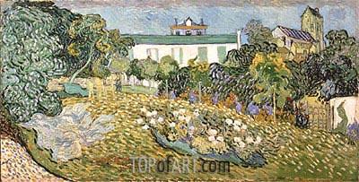 Daubigny's Garden, 1890   Vincent van Gogh   Painting Reproduction