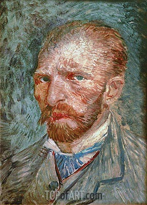 Self Portrait, 1887 | Vincent van Gogh| Painting Reproduction