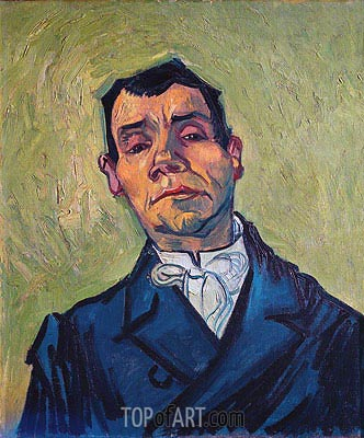 Portrait of a Man, 1888 | Vincent van Gogh | Painting Reproduction