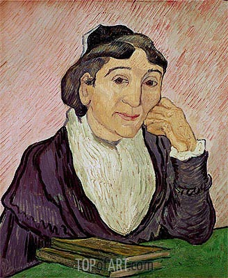 L'Arlesienne (Madame Ginoux), 1890 | Vincent van Gogh| Painting Reproduction