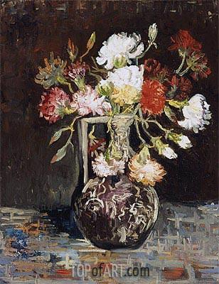 Bouquet of Flowers, 1886 | Vincent van Gogh | Gemälde Reproduktion