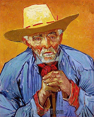 Portrait of Patience Escalier, 1888 | Vincent van Gogh| Painting Reproduction