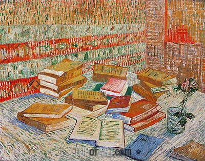 The Yellow Books (Parisian Novels), 1887 | Vincent van Gogh | Gemälde Reproduktion