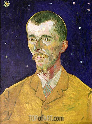 Portrait of Eugene Boch, 1888 | Vincent van Gogh | Painting Reproduction