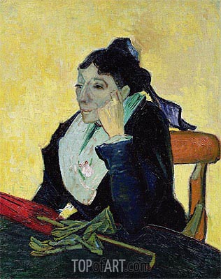 L'Arlesienne, 1888 | Vincent van Gogh| Painting Reproduction