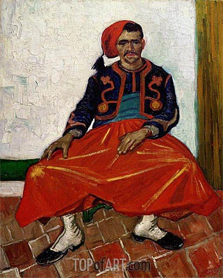 The Zouave, 1888 | Vincent van Gogh| Painting Reproduction