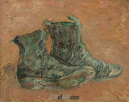 Vincent van Gogh | Shoes, 1887