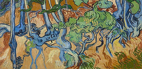 Vincent van Gogh | Tree Roots, 1890