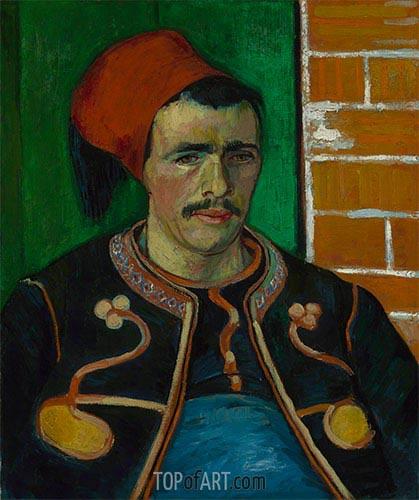 Vincent van Gogh | The Zouave, 1888