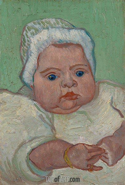 Vincent van Gogh | Portrait of Marcelle Roulin, 1888