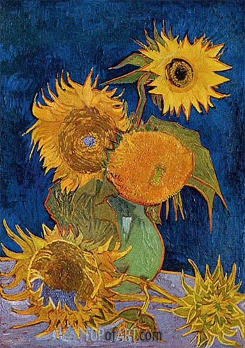 Vincent van Gogh | Six Sunflowers, 1888