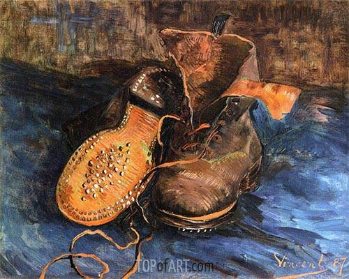 Vincent van Gogh | A Pair of Boots, 1887