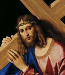Christ Bearing the Cross, c.1520/30 by Vincenzo di Biagio Catena | Painting Reproduction