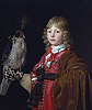 Portrait of a Boy with a Falcon | Wallerant Vaillant